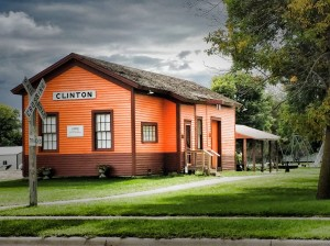 Clinton Train Depot